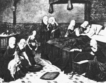 Középkori család